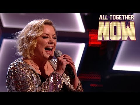 Eastenders' Laurie Brett blasts out The Best by Tina Turner | All Together Now Celebrities