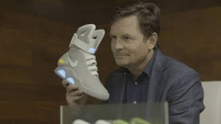 Michael J. Fox Shares a Message about the Nike Mag