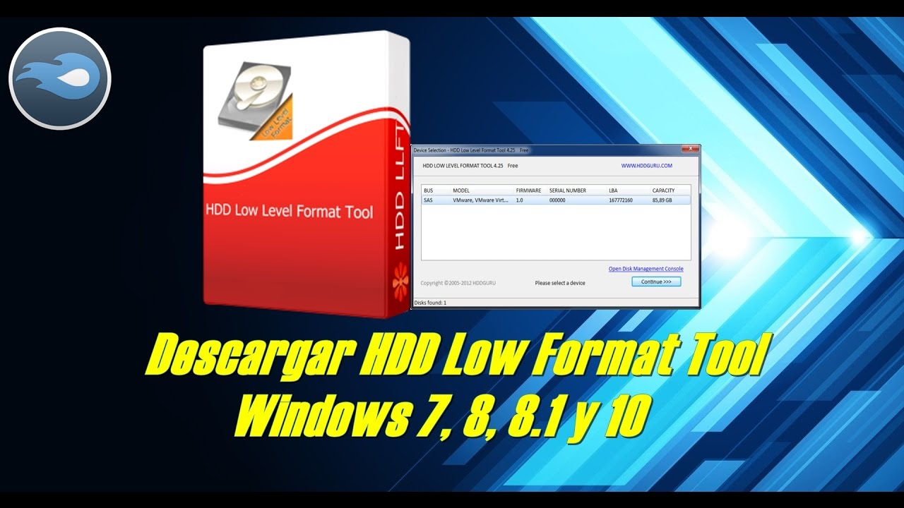 hdd low level format tool 4.30 free download