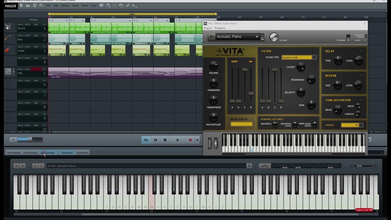 maker music magix espanol tutorial