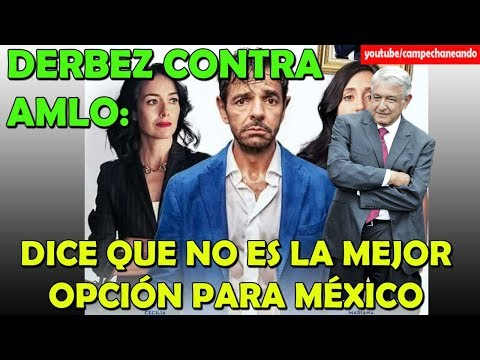 Eugenio Derbez ¡Opina contra López Obrador! - Campechaneando