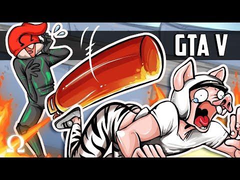 DONKEY KONG MEETS GTA! (NEW CUSTOM MODE) | GTA V FUNNY MOMENTS Ft. Friends