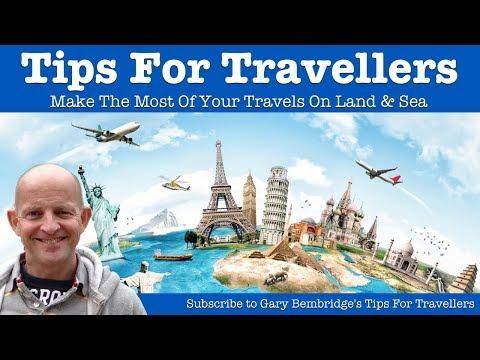 Gary Bembridge's Tips For Travellers Travel & Cruise Tips Channel Trailer
