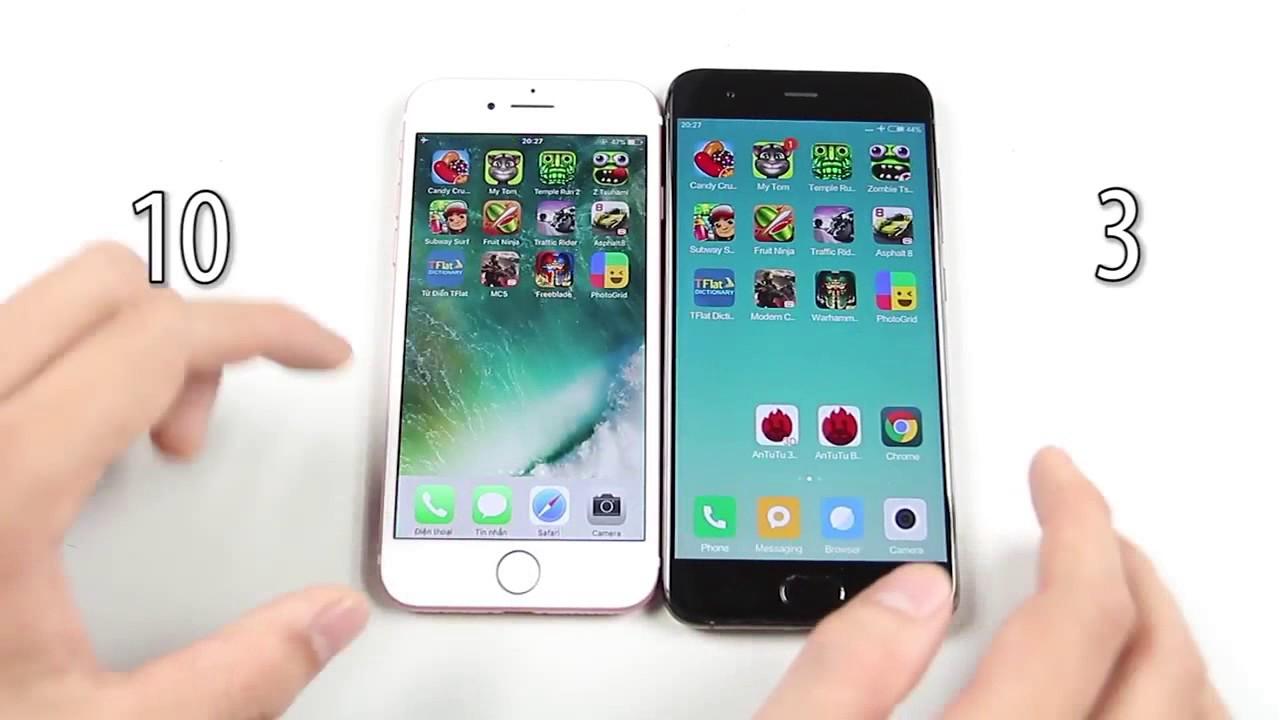 Apple A10 vs Apple A11 Bionic vs Qualcomm Snapdragon 835