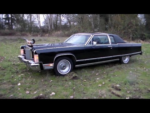 """1977 Lincoln Town Coupe """"Angus"""""""