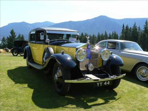 1931 Rolls Royce Phantom Ii Sedanca Deville Barker The Yellow