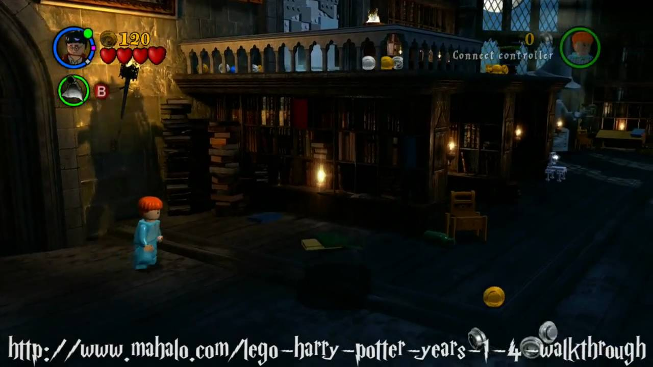 LEGO Harry Potter Walkthrough - Year One: The Restricted ...