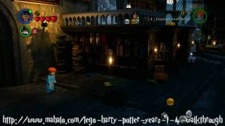 LEGO Harry Potter Walkthrough - Year One: The Restricted Section Part 1