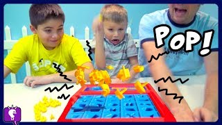 Perfection POP Game! Race the Timer or Lose BIGTIME! Game Play by HobbyKidsTV