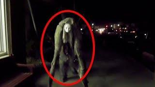 5 יצורים מסתוריים ומצמררים שנתפסו בעיני המצלמה... (חייזרים ומפלצות)