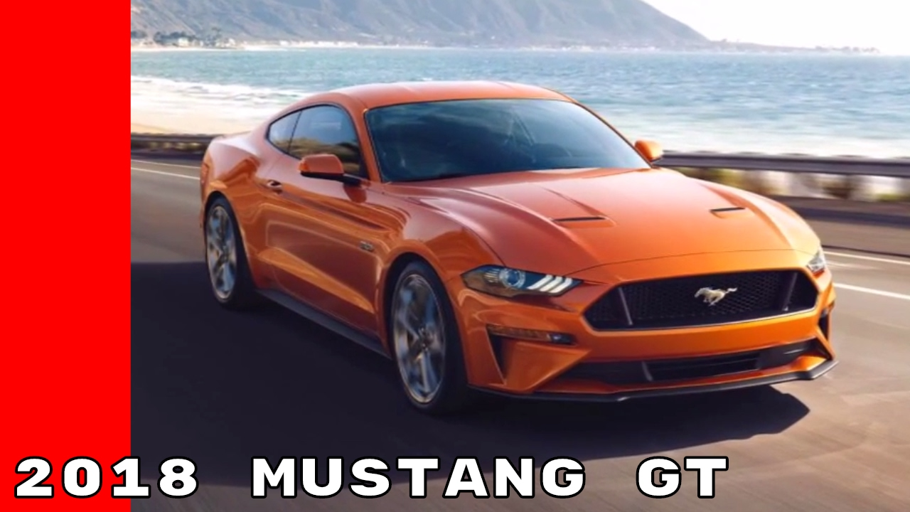 2018 ford mustang gt in blue gray orange colors youtube