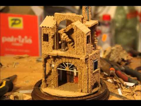 Presepista come costruire un presepino semplice e for Costruire tartarughiera in vetro