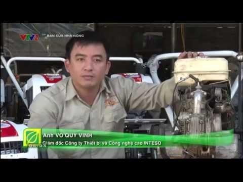 """VTV2 - Bạn của nhà nông: """"MÁY LÀM ĐẤT ĐA NĂNG TRÂU VÀNG"""""""