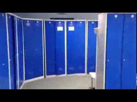 шкаф для раздевалки спортзала!