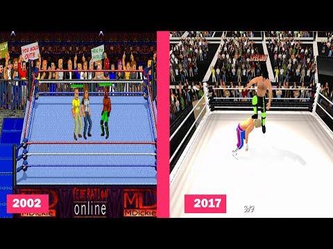 Mat Dickie Games Evolution 2002-2017