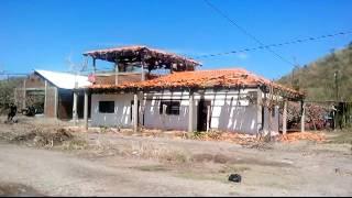 """DEVASTACIONES DEL HURACÁN """"PATRICIA""""  LA HUERTA JALISCO"""