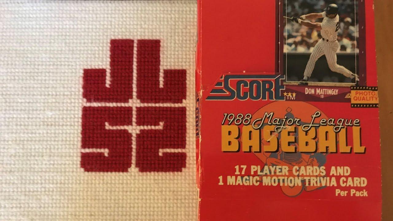 1988 Score Bb Wax Packs Iron Man