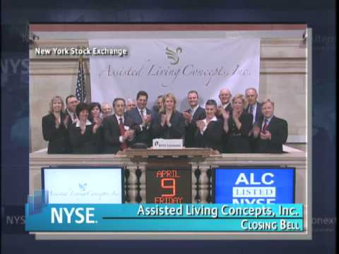 9 April 2010 Assisted Living Concepts, Inc. Visits the NYSE