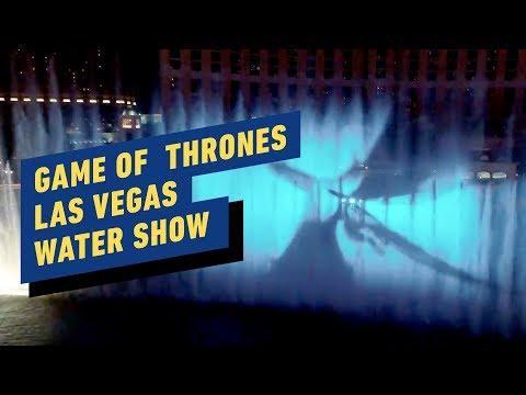 Game Of Thrones: Bellagio Las Vegas Water Show