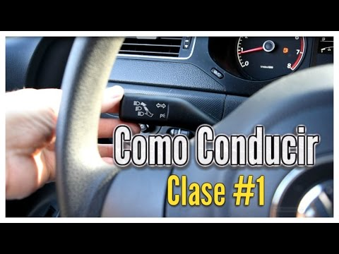 Como Conducir un Vehiculo Automatico por primera vez Clase #1 licencia de conducir  dmv carro