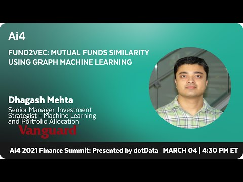 Fund2Vec: Mutual Funds Similarity Using Graph Machine Learning