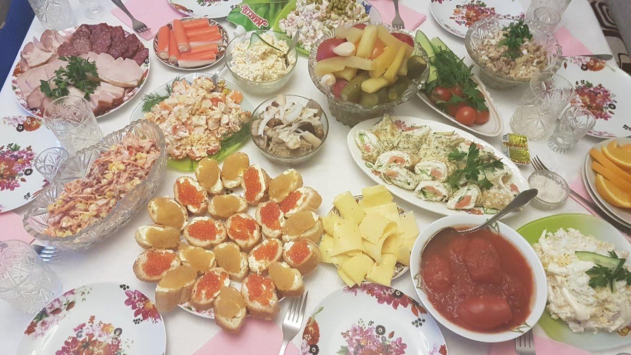 праздничный ужин на 6 человек