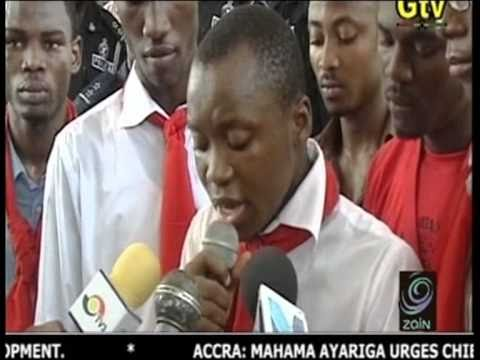 GTV News (Ghana) - Vandals Demonstrations At Uni Of Ghana (Legon) - May 2010