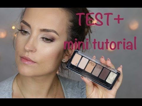 ASTOR paletka EYE ARTIST Cosy nude - test + mini tutorial