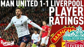 Lallana Made An Impact! | Man United 1-1 Liverpool | Player Ratings