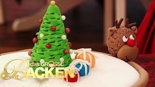 WEIHNACHTSSPECIAL: Weihnachtstorten | Das große Backen 2013