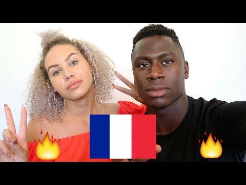 REACTION TO FRENCH MUSIC