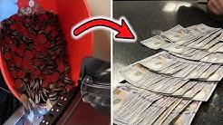 Cashing in 20,000+ Quarters Into $100 Bills!