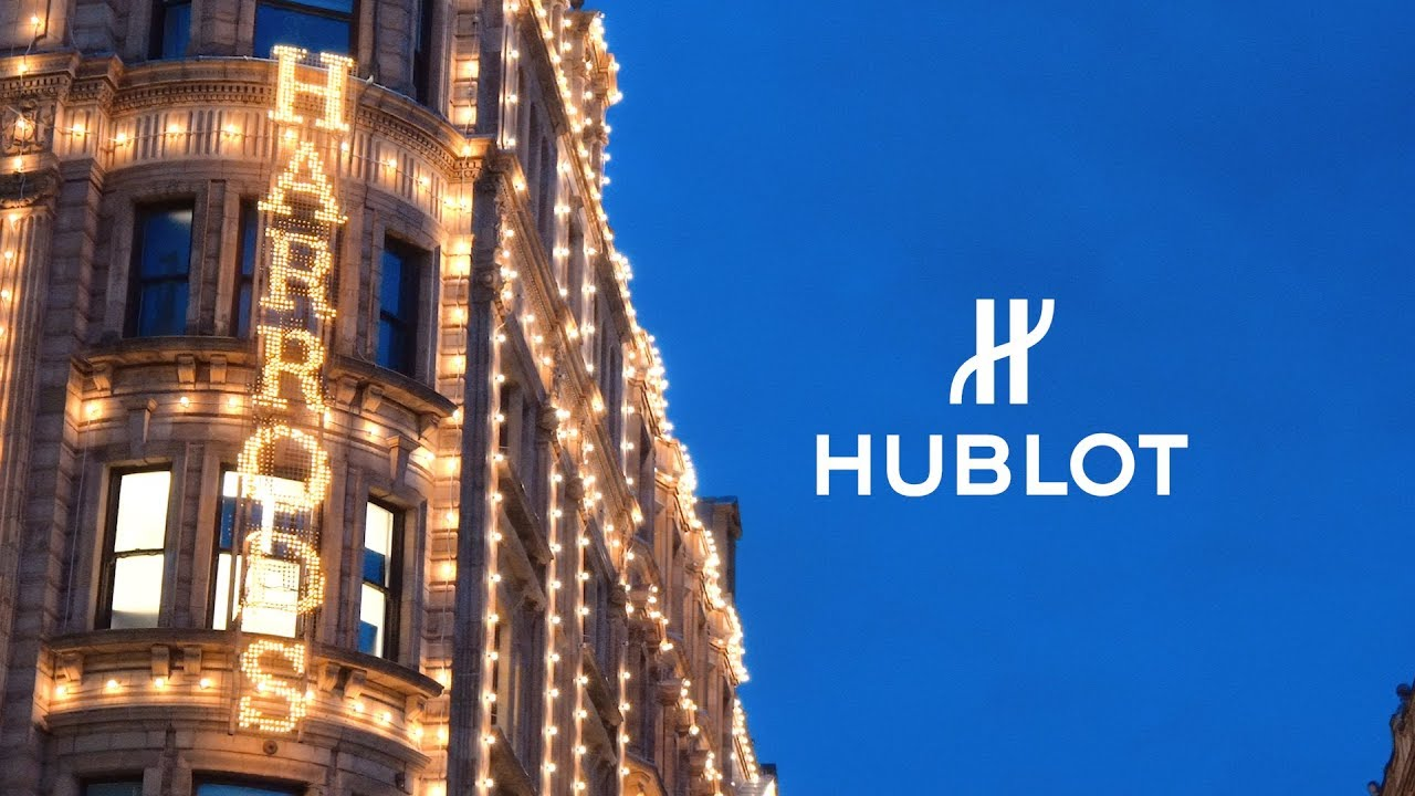 HUBLOT - INAUGURATION OF THE NEW SHOWCASES IN HARRODS