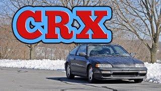 Regular Car Reviews: 1991 Honda CRX Si