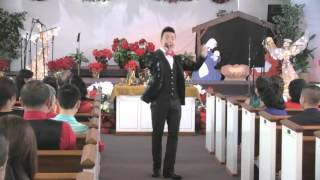 12-25-15 Hát Mừng Vua Trời Giáng Thế – Nguyễn Hoàng Nam
