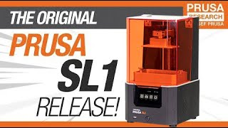 Introducing Original Prusa SL1 - Open-source SLA 3D printer by Josef Prusa