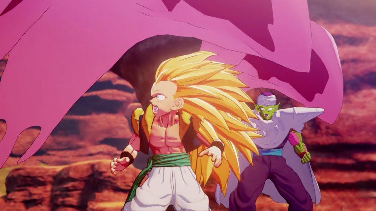 Dragon Ball Z Kakarot Super Buu Absorbs Gotenks Gohan And Piccolo Youtube