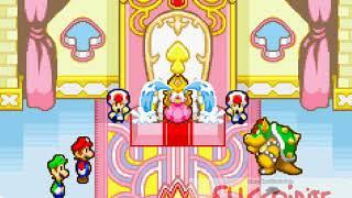 ¡¡¡¡Le roban la voz a la princesa peach!!! - Mario and Luigi - Superstar Saga Capitulo 1