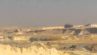 كل أنواع الحفر فى موقع  واحد بقناة السويس الجديدة