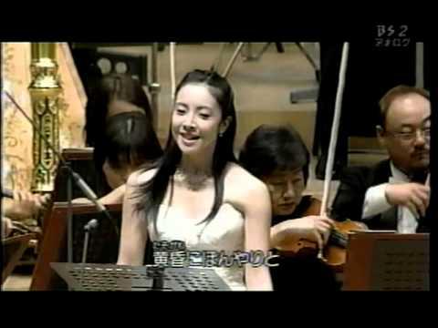 2008年 千住明 松本隆 源氏物語「夕顔」小林沙羅