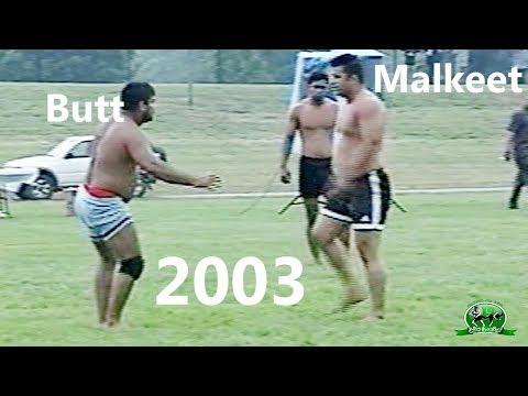Kabaddi Match 2003 | Gulam Abbas Butt Vs Pupinder Singh Pinder