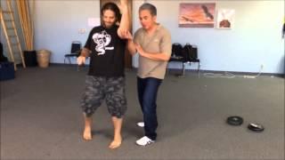 Ng Ga Kuen & Unicorn (Qilin) Hakka Kung Fu:  Left-Right Combo Defense