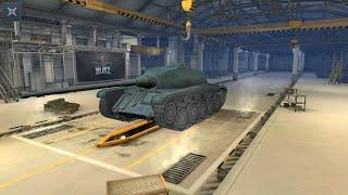 WoT Blitz. Самый первый бой на AMX CDC. Полетели..