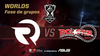 OG vs KT - Worlds Día 7 Grupos - Mundiales League of Legends 2015 en Español