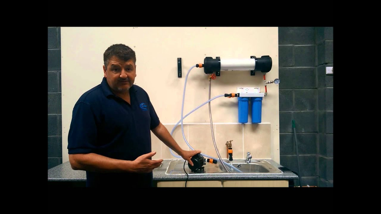 Reverse Osmosis 4021 System For Water Fed Pole Window