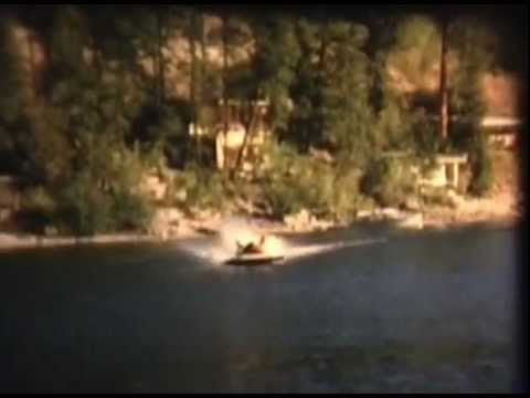 Christina Lake BC Racing Boat Testing Day 1977