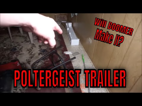 (POLTERGEIST TRAILER IN THE WOODS) TAKE A TRIP DOWN THE ROAD LESS TRAVELED