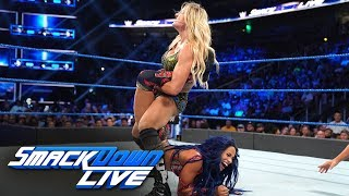 Charlotte Flair vs. Sasha Banks: SmackDown LIVE, Sept. 17, 2019