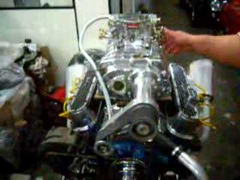 Garage34 - Motor Chrysler V8 318 com blower 4:71