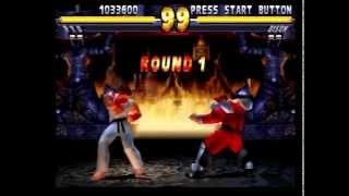 Street Fighter EX 2 Plus (PlayStation) Arcade as Ryu